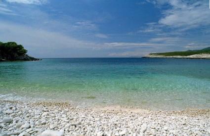 Plaža Srebrna na Visu