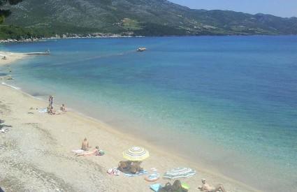 Plaža Trstenica u Orebiću