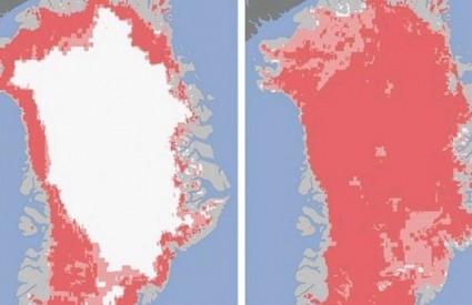 Cijeli se Grenland otopio neviđenom brzinom