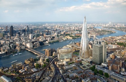 The Shard je najviši neboder u Europi