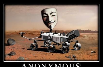 Curiosity pod kontrolom Anonymousa? Cool :)