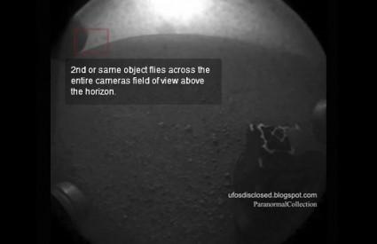 Na snimkama Curiosityja stalno se pojavljuju NLO-i