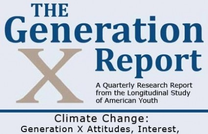 Generacija X je začuđujuće ravnodušna