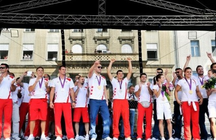 Olimpijci na Trgu