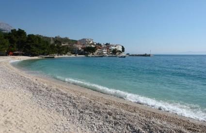 Sjajna plaža u Promajni