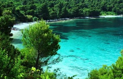 Plaža Vučine u uvali Žuljana