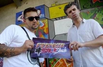 Frenkie i Sale na snimanju spota