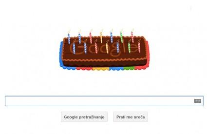 Sretan rođendan Googleu