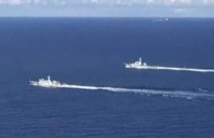 Kineski ratni brodovi zakuhali su probleme