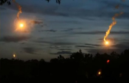 Čudnovata svjetla na nebu Sjeverne Karoline