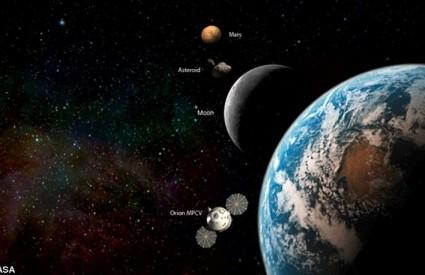 Svemirska stanica Orion treba biti na tamnoj strani Mjeseca