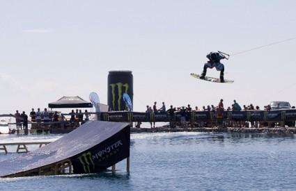 Boardanje na akumulacijskom jezeru Zvoha