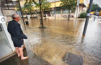 Poplavljena Relja u Zadru