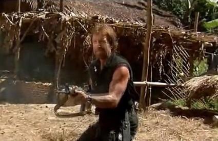 Chuck Norris uvijek ima municije