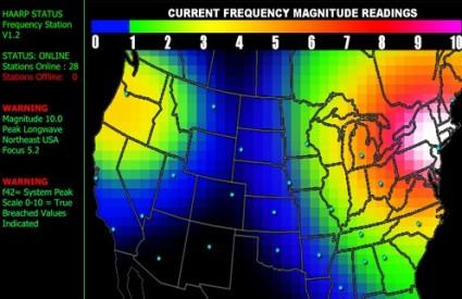Ono bijelo nad New Yorkom je najsnažnija aktivnost HAARP-a u povijesti