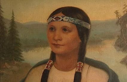 Prva svetica Indijanka