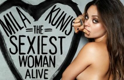 Mila Kunis je tek druga ...