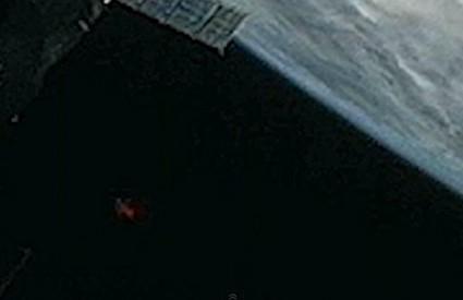 NLO snimljen s ISS-a
