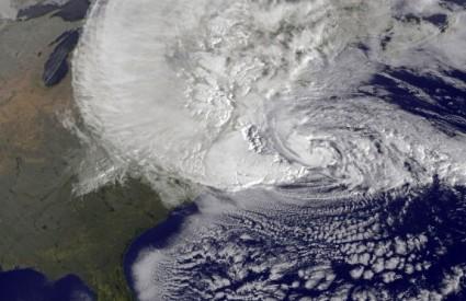 Nakon Sandy stiže nova oluja