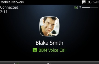 BlackBerry Messenger Voice