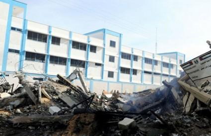 Sjedište MUP-a u Gazi je sravnjeno sa zemljom