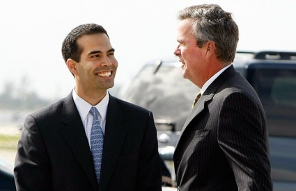 George P. Bush i otac mu Jeb