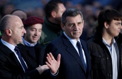 Ante Gotovina na Trgu bana Jelalčića