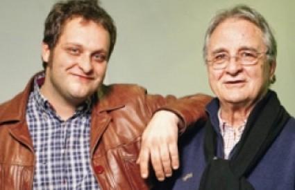 Nikola Ivanda s ocem Brankom