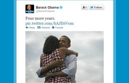 Obama se pohvalio na Twitteru