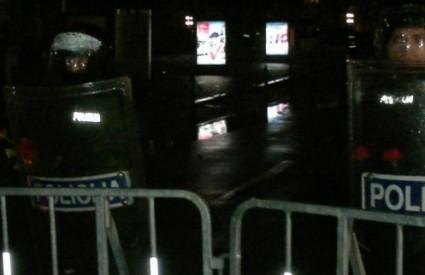 Policija u Ljubljani ima pune ruke posla