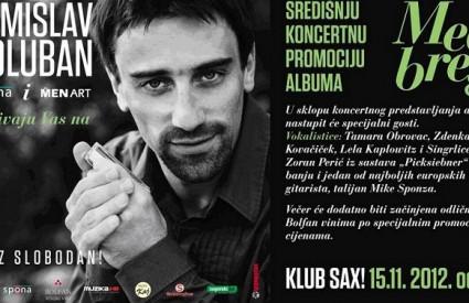 Tomislav Goluban napravit će sjajnu atmosferu u Sax!u