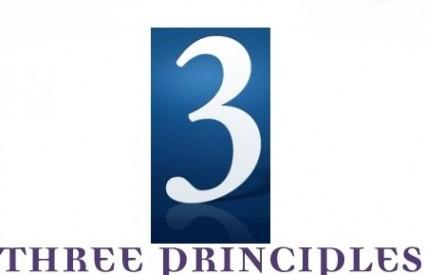 Dobro je poznavati tri principa
