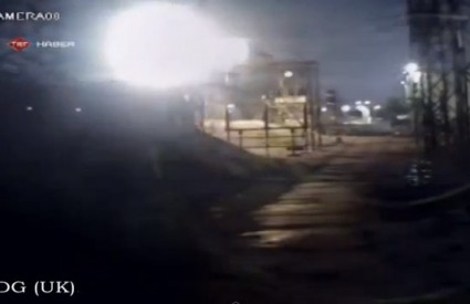 NLO, meteor, raketa ...?