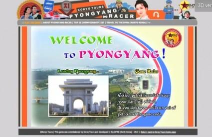 Ganjavela ulicama Pyongyanga