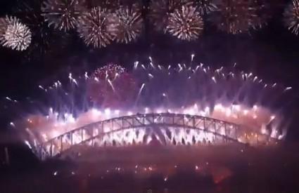 Finale vatrometa u sydneyskoj luci