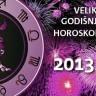 Veliki godišnji horoskop za 2013.