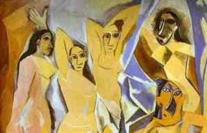Jedna od Picassovih najpopularinijih slika - Gospođice iz Avignona