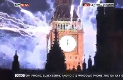 Londonski vatromet na dočeku 2013.