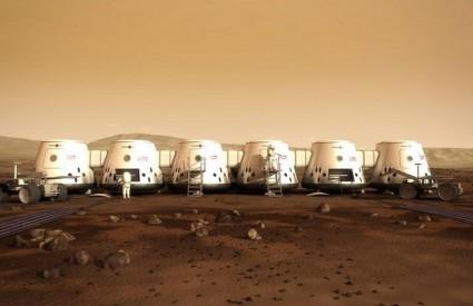 Mars One ovako vidi svoju koloniju na Marsu