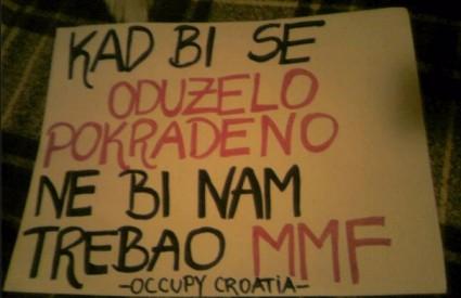 Occupy Croatia upozorava s pravom