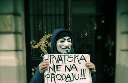 Occupy Croatia nastavlja s akcijama