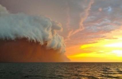 Pješčani tsunami putuje prema Australiji