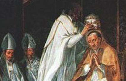 Papa Celestin V.