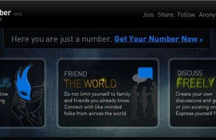 Social Number, društvena mreža za ljubitelje privatnosti
