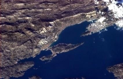 Ovako se vidi Split iz ISS-a
