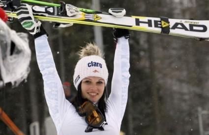 Anna Fenninger dogurala do trećeg mjesta