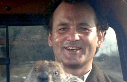 Svizca iz Punxsutawneya proslavio je film Beskrajni dan s Billom Murrayem