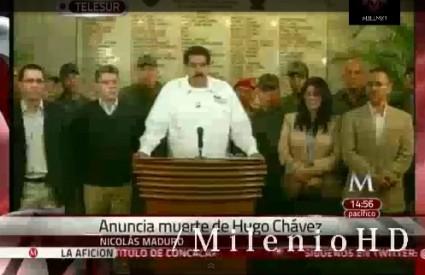 Vijest je objavio potpredsjednik Nicolas Maduro