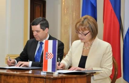 Pusić i Kajzer parafiraju Memorandum