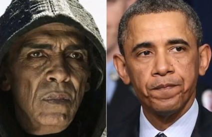 Vrag izgleda točno kao Obama